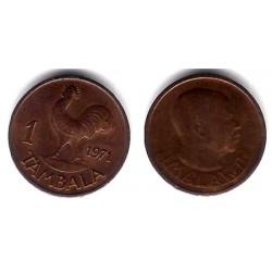 (7.1) Malaui. 1971. 1 Tambala (MBC)