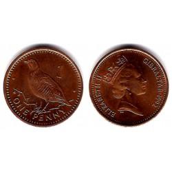 (773)  Gibraltar. 1992. 1 Penny (EBC)
