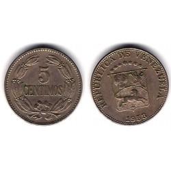 (Y382) Venezuela. 1958. 5 Céntimos (MBC)