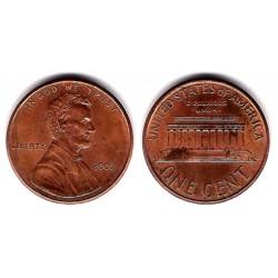 (201) Estados Unidos de América. 2002. 1 Cent (MBC)
