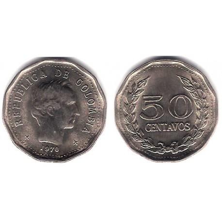(244.1) Colombia. 1970. 50 Centavos (SC)