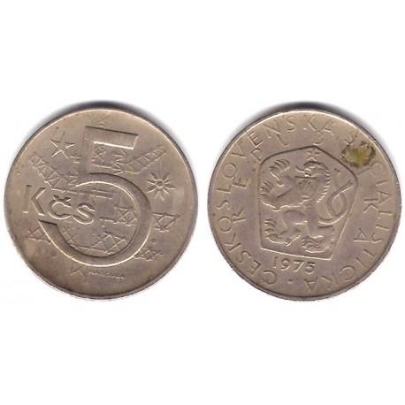 (60) Checoslovaquia. 1975. 5 Korun (MBC)