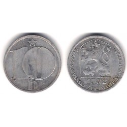 (80) Checoslovaquia. 1982. 10 Haleru (BC)