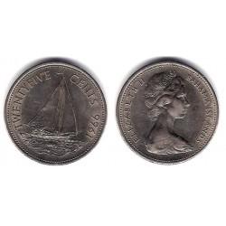 (6) Bahamas. 1966. 25 Cents (EBC)