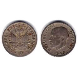 (58) Haití. 1949. 10 Centimes (BC)