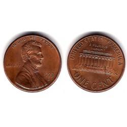 (201) Estados Unidos de América. 1993(D). 1 Cent (MBC)