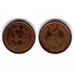 (11) Pakistán. 1956. 1 Pie (MBC+)
