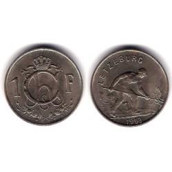 (46.2) Luxemburgo. 1953. 1 Franc (SC)