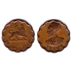 (36) Etiopia. 1936(1952/3). 25 Cents (MBC+)