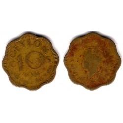 (118) Ceilán. 1944. 10 Cents (BC)