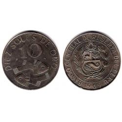 (253) Perú. 1969. 10 Soles de Oro (EBC-)