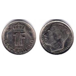 (63) Luxembugo. 1989. 1 Franc (SC)