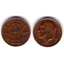 (148.1) Bélgica. 1979. 50 Centimes (MBC)