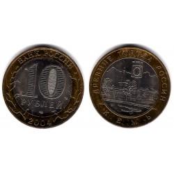 (Y826) Rusia. 2004. 10 Roubles (SC)