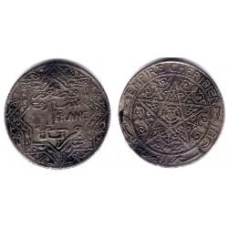 (Y36.1) Marruecos. 1921. 1 Franc (MBC)