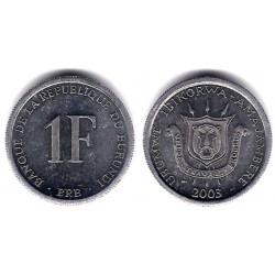 (19) Burundi. 2003. 1 Franc (SC)