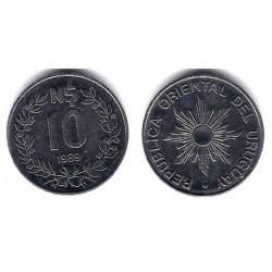 (93) Uruguay. 1989. 10 Nuevos Pesos (EBC)