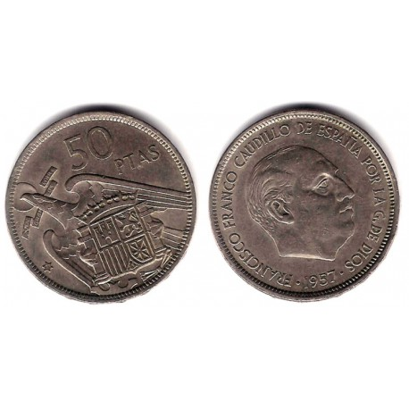 Estado Español. 1957*(71). 50 Pesetas (MBC)