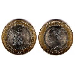 (Y93) Venezuela. 2007. 1 Bolivar (SC)