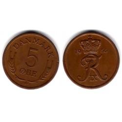 (848.1) Dinamarca. 1966. 5 Ore (SC-)