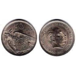 Estado Español. 1957*(58). 50 Pesetas (EBC)