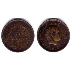 (530) Portugal. 1906. 5 Reis (EBC)