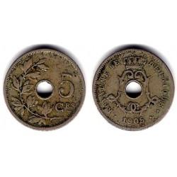 (55) Bélgica. 1905. 5 Centimes (MBC)