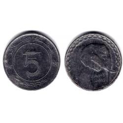 (123) Algeria. 1992. 5 Dinars (EBC-)