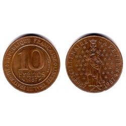 (961d) Francia. 1987. 10 Francs (MBC+)