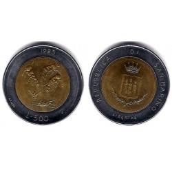 (153) San Marino. 1983. 500 Lira (SC)