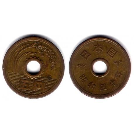 (Y72a) Japón. 1965(40). 5 Yen (MBC)