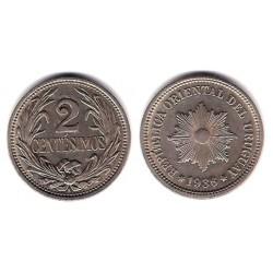 (20) Uruguay. 1936. 2 Centesimos (SC)