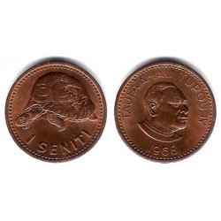 (27) Tonga. 1968. 1 Seniti (SC)