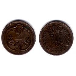 (2801) Austria. 1894. 2 Heller (BC)