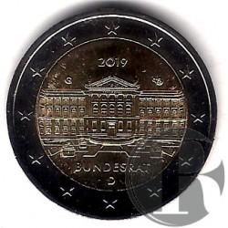 Alemania. 2019. 2 Euro (J)