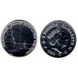 Gran Bretaña. 2019. 2 Pounds (Proof) (Plata)