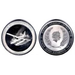 Estados Orientales Caribeños. 2018. 2 Dollars (Proof) (Plata) Granadinas