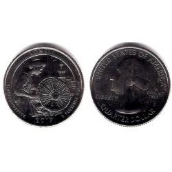 Estados Unidos de América. 2019(D). Quarter Dollar (SC) Lowell