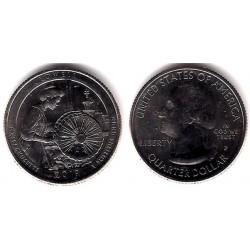 Estados Unidos de América. 2019(P). Quarter Dollar (SC) Lowell