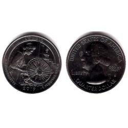 Estados Unidos de América. 2019(S). Quarter Dollar (SC) Lowell