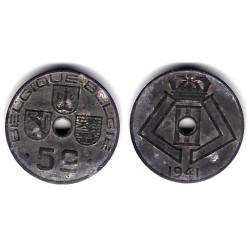(123) Bélgica. 1941. 5 Centimes (BC+)