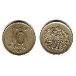 (823) Suecia. 1959TS. 10 Ore (BC+) (Plata)