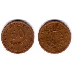 (81) Mozambique. 1957. 50 Centavos (MBC+)