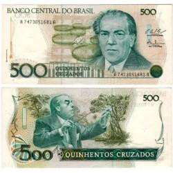(212c) Brasil. 1986-88. 500 Cruzados (EBC+)