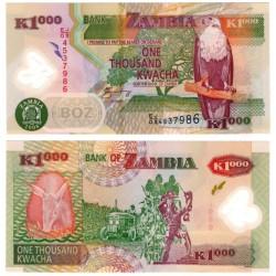 (44f) Zambia. 2008. 1000 Kwacha (SC)