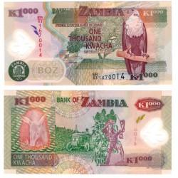 (44h) Zambia. 2011. 1000 Kwacha (SC)