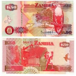 (37c) Zambia. 2001. 50 Kwacha (SC)