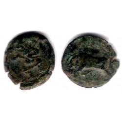 Ebusus (Ibiza). 200-100 a.C. Cuarto de Calco