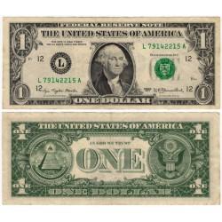 (462a) Estados Unidos de América. 1977A. 1 Dollar (BC+)