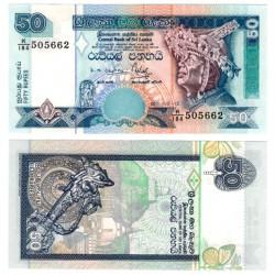 (110b) Sri Lanka. 2001. 50 Rupees (SC)